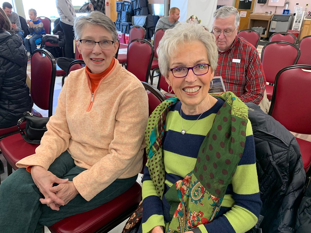 . Beth Arnald of Chelmsford and Phyllis Carrow of Westford