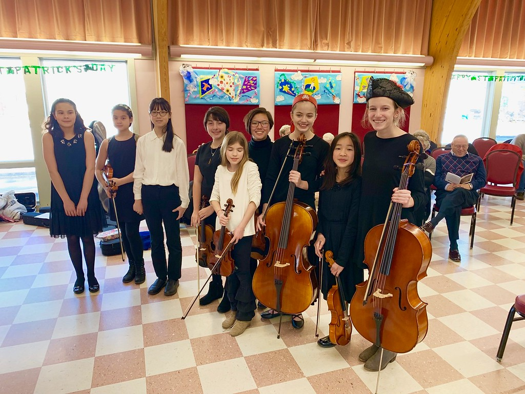 . �String Students� featured in the Spotlight on Youth