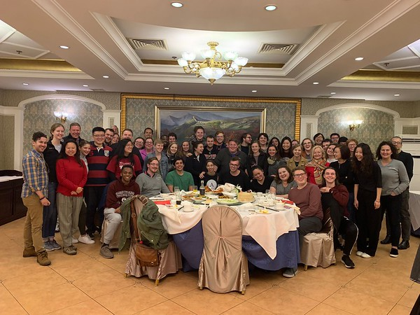 Concluding an amazing day in China with a traditional Peking Duck dinner, hosted by Kaiwen Education.