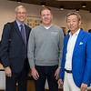 Westminster Dean Marshall Onofrio, Dr. Joe Miller and Kaiwen Education Group Chairman Marc Xu.