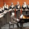 Professor JJ Penna accompanied the Westminster Choir.