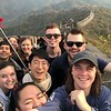 At the Great Wall!