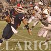 Gibson Southern senior linebacker Hayden Maurer pressures the quarterback during a game against Heritage Hills Friday night.