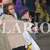 Rachel Graber Akpotu/Daily Clarion <br /> Payton Clay and Clay Lance check scout the best places to catch some candy during Princeton's annual Snowflake Parade Saturday night.