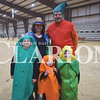 Best family costume winners were Caden (cucumber), 6, April (farmer), Kateri (carrot), 3, Kysten (corn), 5, and Jeremy Newlin (chili pepper).