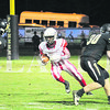 Javon Wilkerson finds a hole in a 65-38 victory over Boonville on Sept. 30.