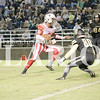 Maleek Hardiman rushes for four touchdowns, passes two touchdowns and hauls in two interceptions on defense in a 65-38 victory over Boonville on Saturday.