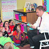"Princeton Community Intermediate students were all ears during story time as North Gibson Schools Assistant Superintendent Eric Goggins read during the ""Reading Tigers"" launch."