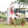 Kenzie Whitten plays at Princeton Country Club in early Aug. Over the weekend, Whitten represented GSHS in the state finals and finished tied for 55th with a final score of 176.