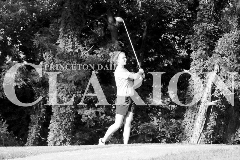 Haley York shoots a 42 in a team loss to Mount Carmel and Mt. Vernon on Thursday.