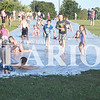 Hillside United Methodist Church hosted their annual water games event Wednesday evening. The event kicks off their Wednesday night programs for kids. This year's event had a 200-foot slip-n-slide and a dunk booth.