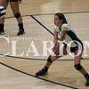 Lucas Whitten/Daily Clarion Archive<br /> <br /> Hannah Thacker returns a volley in a match against North Knox last season