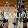 Lucas Whitten/Daily Clarion Archive<br /> <br /> Kenzie Tooley goes for a dig against North Knox High School.