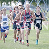 Lucas Whitten/Daily Clarion Archive<br /> Justin Niederhaus leads the field at the Princeton Community Invite last year at PCHS.