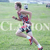 Lucas Whitten/Daily Clarion Archive<br /> Jackson Kreig runs a 17:21 at the PCHS Invitational last season.