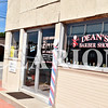 Jess Huffman/Daily Clarion<br /> Dean's Barber Shop, at the intersection of Hart and Emerson streets, will move locations at the end of the month.