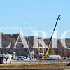 Daily Clarion/Suzy Ernst<br /> Construction is under way at the site of a new coal loading facility on the north side of Ind. 64, west of the Owensville junction. Coal will be trucked to the facility and loaded for rail transport.