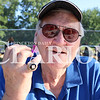 Lucas Whitten/Daily Clarion<br /> <br /> Denny McLain shows off his 1968 World Series Championship Ring in a season in which he was named the MVP and Cy Young Award winner.