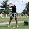 Lucas Whitten/Daily Clarion Archive<br /> <br /> Mason Stoll tees off at the 2017 Gibson County golf meet at Oakland City Country Club on May 31.