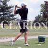 Lucas Whitten/Daily Clarion<br /> Gibson Southern's Mason Stoll tee's off at Oakland City Country Club en route to a team-low 77 at the Gibson County championship meet on Wednesday.