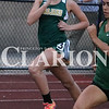 Lucas Whitten/Daily Clarion<br /> Trojan Chloe Bartley runs through the pack in the 800 at the Evansville Central hosted regionals last week.