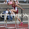 Lucas Whitten/Daily Clarion<br /> <br /> Gibson Southern's Sammi Bittner hurdles her way to regional championships in the 100 and 300-meter hurdles.