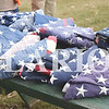 Quiche Matchen/ Daily Clarion<br /> Almost 30 American flags including one Indiana flag were retired Saturday evening. When flags are worn, torn or faded they should be retired.