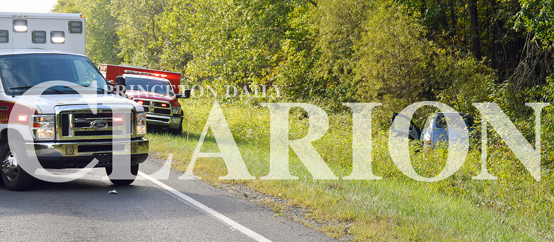 Daily Clarion/Suzy Ernst<br /> First responders were dispatched to a one-car accident on Ind. 64 West Wednesday morning near East Mount Carmel involving injury. No report was available as of press time.
