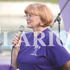 Quiche Matchen/ Daily Clarion<br /> Rita Dougan thanks everyone who has ever bought a cookie at a bake sale or made any contribution to the Gibson County Domestic and Sexual Violence Task Force at the fifth annual Flowers on the Lake Thursday evening. Dougan is the mother of Jesica Tice, who was a victim of domestic violence.
