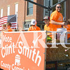 Daily Clarion/Andrea Howe<br /> County Commissioner candidate Clint Smith