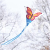 Quiche Matchen/ Daily Clarion <br /> A kite blows in the wind at the first-ever Kite Day at Lyles Station Saturday afternoon.
