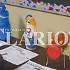 Quiche Matchen/ Daily Clarion <br /> Displayed are more crafty creamer characters made out of coffee creamer containers by Princeton Community Primary North students.
