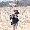 Quiche Matchen/ Daily Clarion <br /> Zoey Schmidt, 10, flies her kite at the first-ever Kite Day at Lyles Station Saturday afternoon. Schmidt also got to test out a couple kites prior to the event on Saturday.