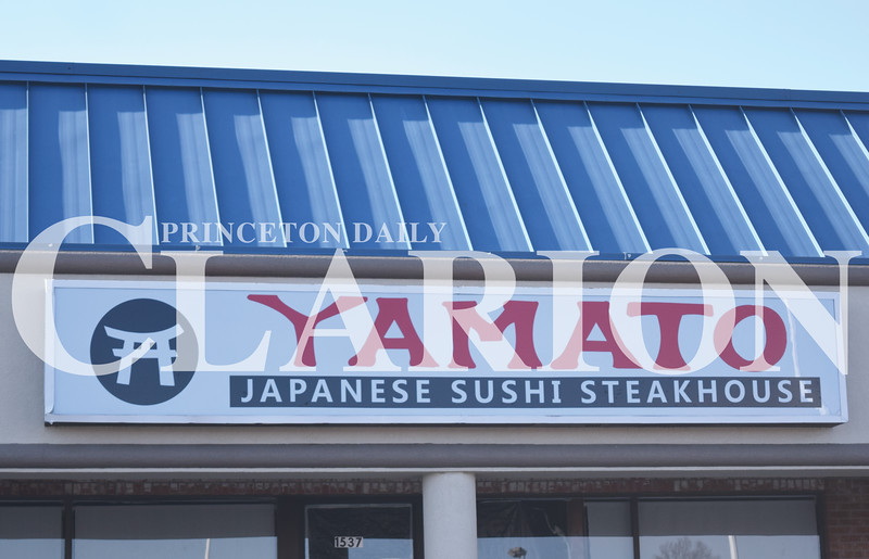 Quiche Matchen/ Daily Clarion <br /> Yamato Japanese Steak House, 1537 West Broadway Street in Princeton, may open this month. Hours are from 11 a.m. to 9:30 p.m. Monday through Thursday and Sunday, and from 11 a.m. to 10 p.m. Friday and Saturday.