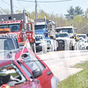 Quiche Matchen/ Daily Clarion <br /> East and west bound traffic on State Road 64 was blocked for almost an hour.