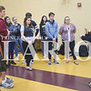 Quiche Matchen/ Daily Clarion <br /> Gibson Southern High School students participated in the National School Walkout in protest of gun violence, Friday morning.