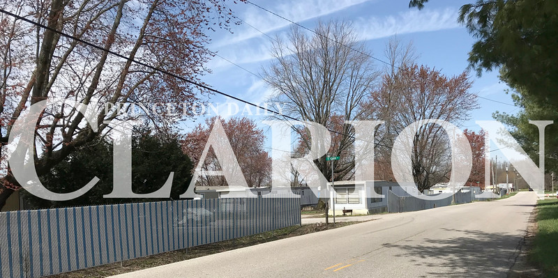 Daily Clarion/Andrea Howe<br /> The Sandy Acres mobile home park was purchased earlier this month.
