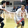 Nick Albin looks to score in Princeton's win over Barr-Reeve Saturday.