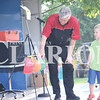 Quiche Matchen/ Daily Clarion  <br /> Joseph Feutz  participates in a magic trick with Tim Balster of Balster's Sheer Magic Show at the Gibson County Fair.