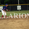 Grant Essenmacher/Daily Clarion<br /> Mitchell Spindler continued his hot hitting for Post 25, this time from the leadoff spot against Carmi. Spindler recorded three hits on the night.