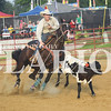Quiche Matchen/ Daily Clarion  <br /> Tuesday night, Gibson County Fair rodeo attendees watch bareback riding, saddle bronc riding, tie down roping, girls breakaway roping, barrel race, steer wrestling and team roping by Latting Rodeo Productions.