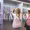 Quiche Matchen/ Daily Clarion  <br /> Brittani and Julie Clark look at clothes at Shelby Lynn's Boutique Saturday morning.