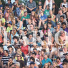 Quiche Matchen/ Daily Clarion  <br /> The Gibson County Fairgrounds grandstands were filled with people watching Latting Rodeo Productions, Tuesday night.