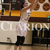 Lucas Whitten/Daily Clarion Archive<br /> Tabatha Klem hits a 3-point baskset earlier this season at Gibson Southern High School.