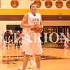 Wes Obermeier looks to convert a free throw in Gibson Southern's 58-56 win over Heritage Hills Friday night.