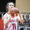 Daily Clarion archive<br /> Lady Tiger Hannah Sisk at the free throw line in November action.