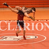 Luke Dunn takes down his Jasper opponent Tuesday night during Princeton's wrestling match.