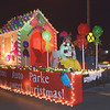 Quiche Matchen/ Daily Clarion arhive<br /> Princeton Auto Parke float was decorated with a gingerbread house and candy, during the ninth annual Oakland City Christmas parade.