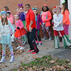 Daily Clarion archive/Andrea Howe<br /> The Dancing Tigers of New Image Family Fitness practice their moves while waiting for the Christmas parade to start.