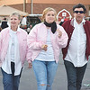"Sharon Hart, Makenzie Hart, and Mike Hart's costumes for the Trunk-or-Treat were inspired by the movie ""Grease"" and the 1950s. The Harts are main characters Marty and Danny and their granddaughter is Sandy from the movie."